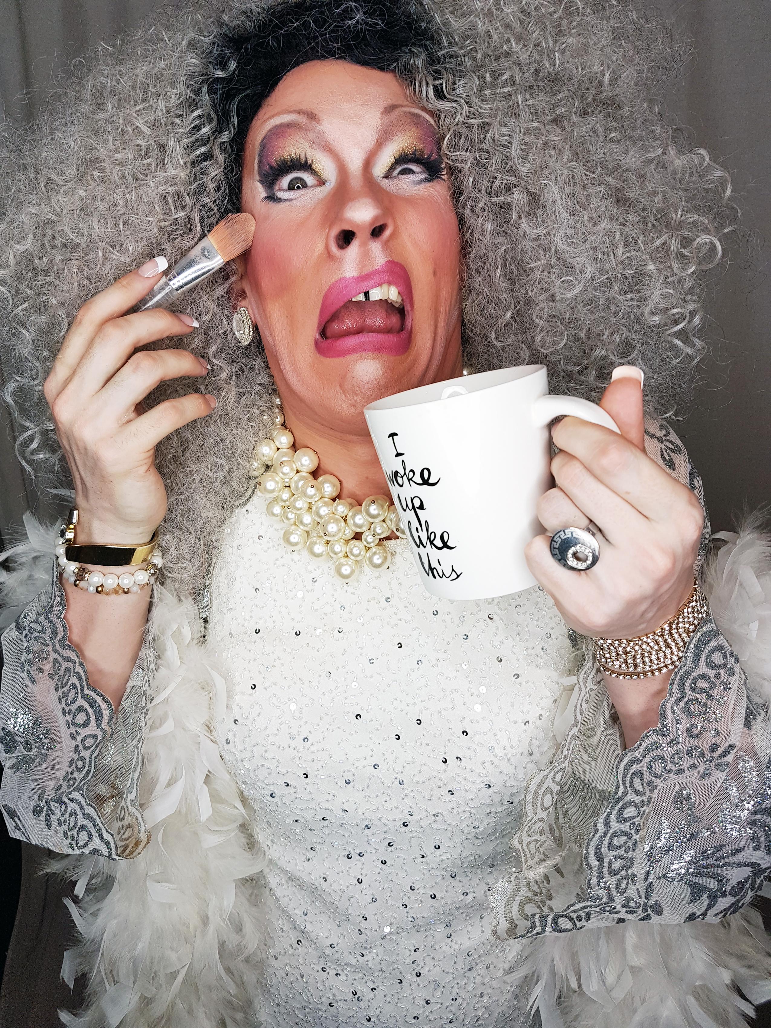 Uma Gahd Drag Queen Makeup