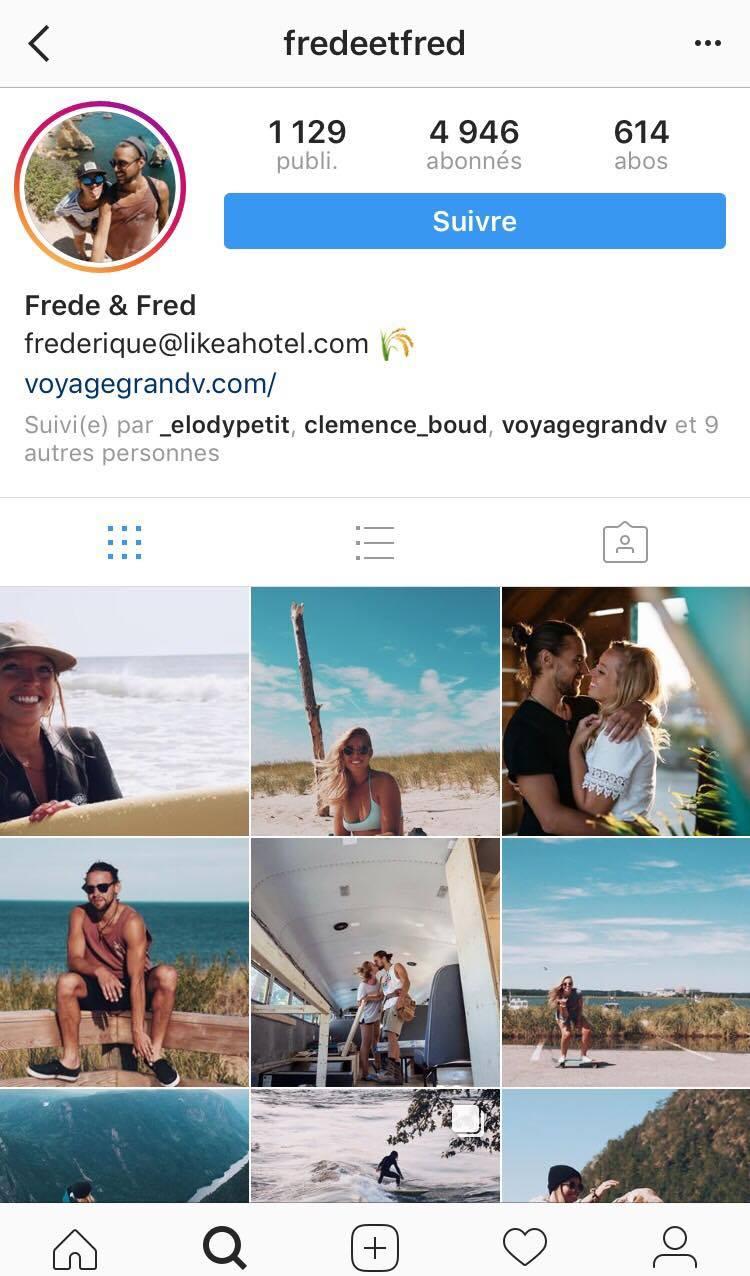 Voyage, instagram, découverte, influenceur, médias sociaux, contenu