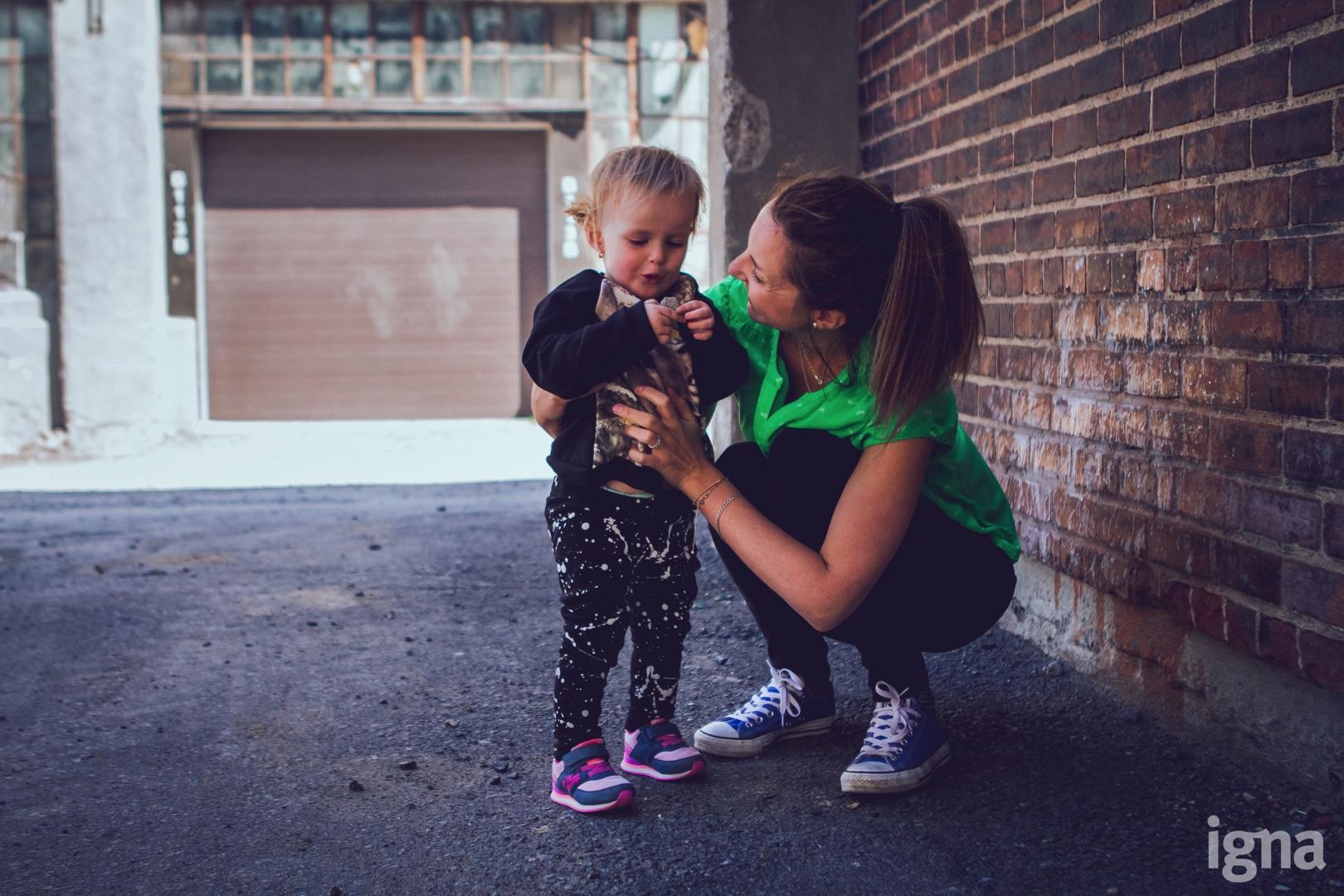 enfants mère-fille vêtements enfants