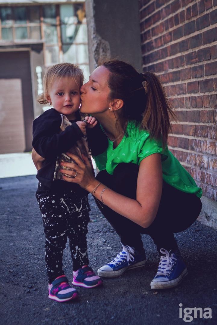 enfant mère-fille