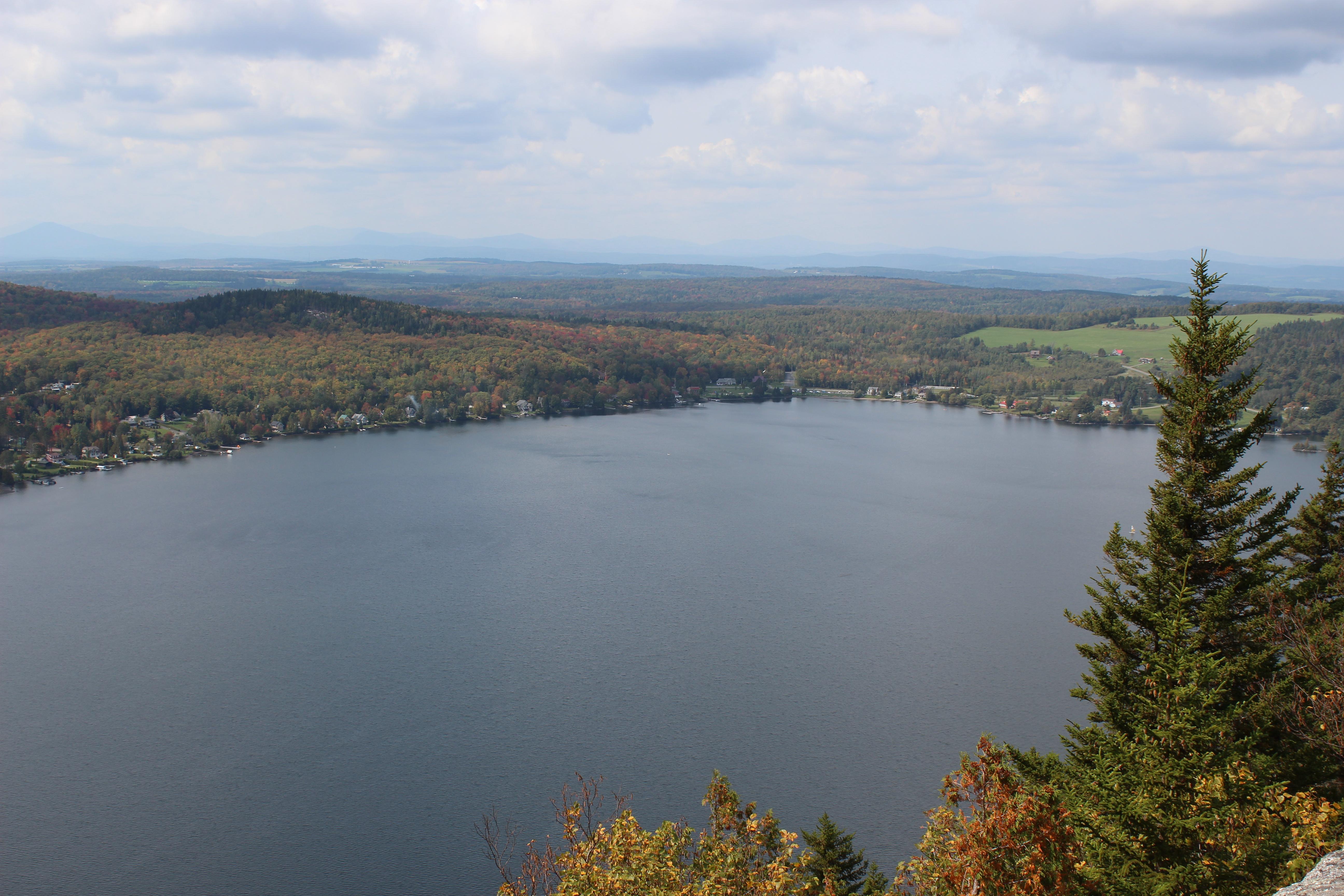 lac cantons de l'est