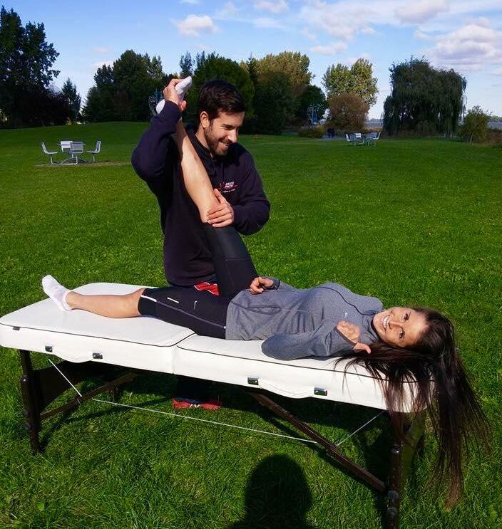 physiothérapie, soins, blessure, sport