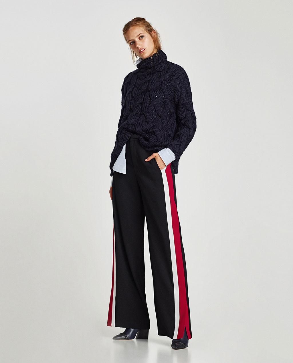 palazzo, pantalon, tendance