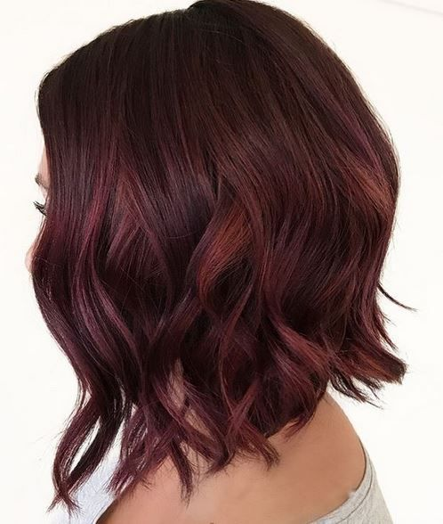 rouge, bourgogne, automne 2017, cheveux
