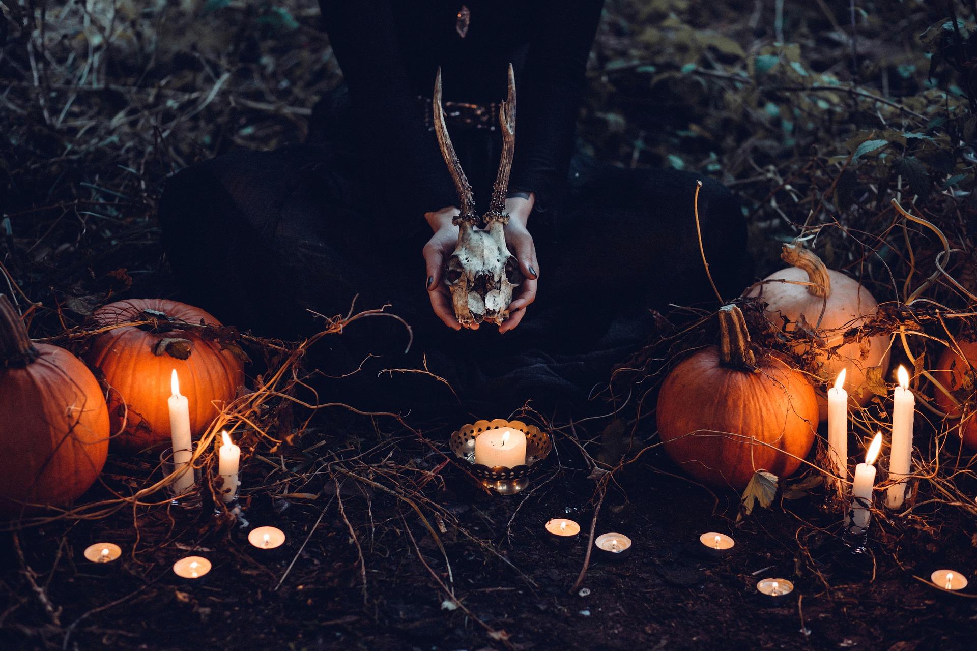 peur, halloween ,citrouille
