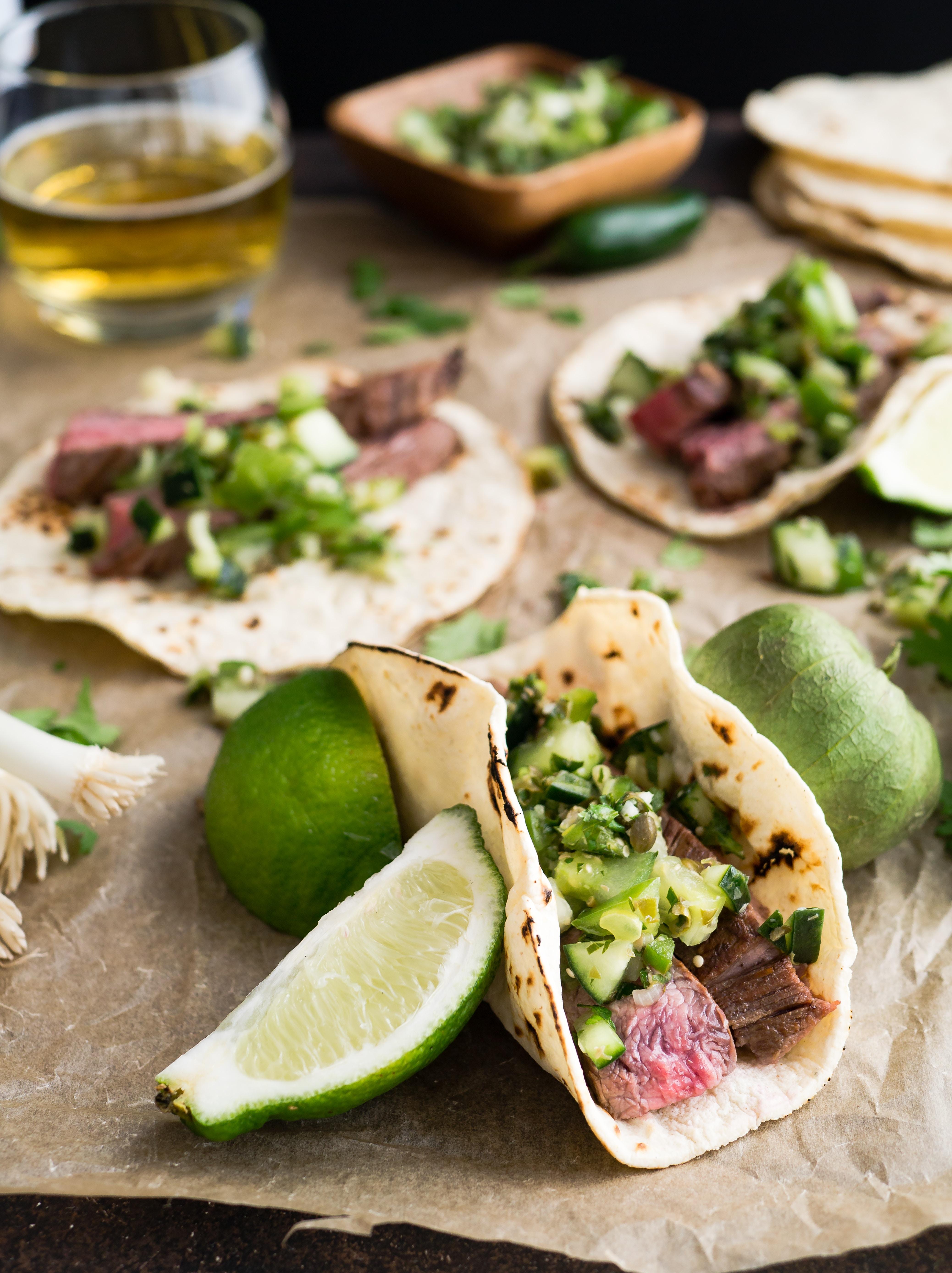 mexique, tacos, bouffe, lime, voyage