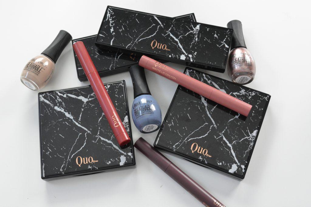 maquillage QUO, QUO cosmétique