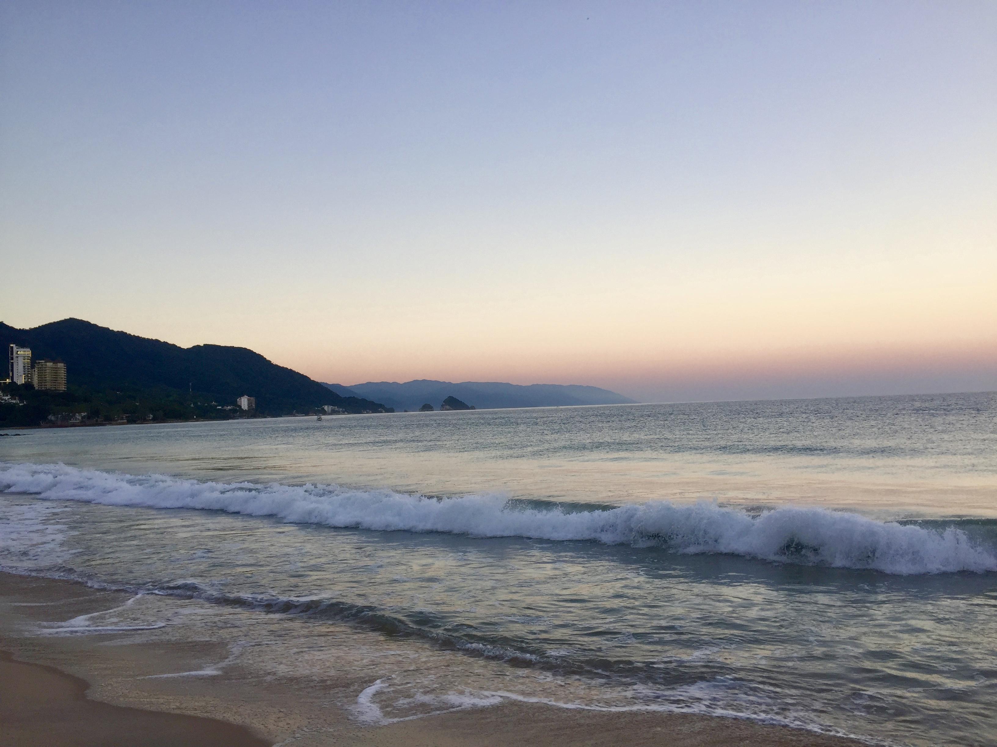 mexique, voyage, plage