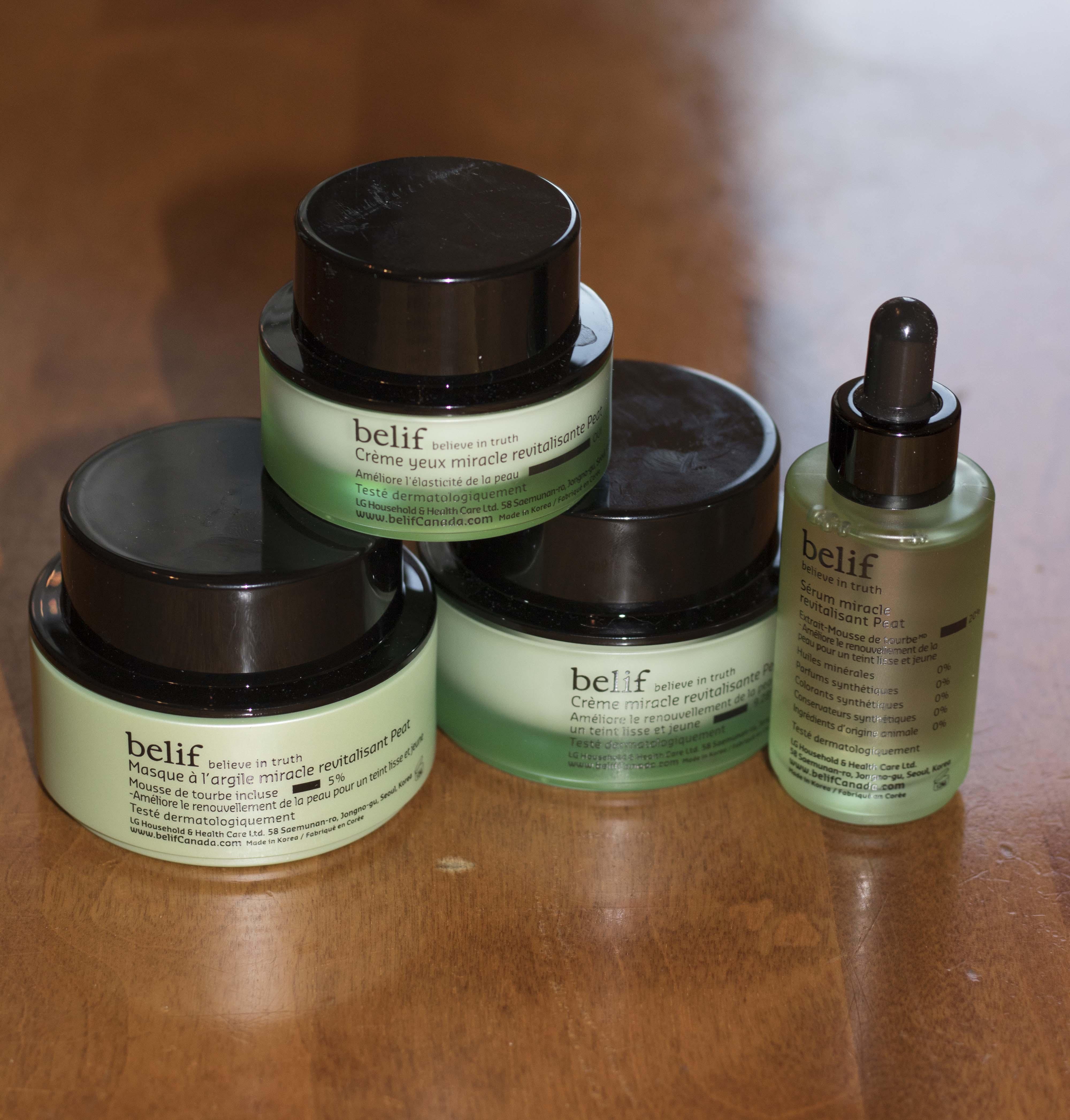 belif détente rituel soin peau visage crème hiver