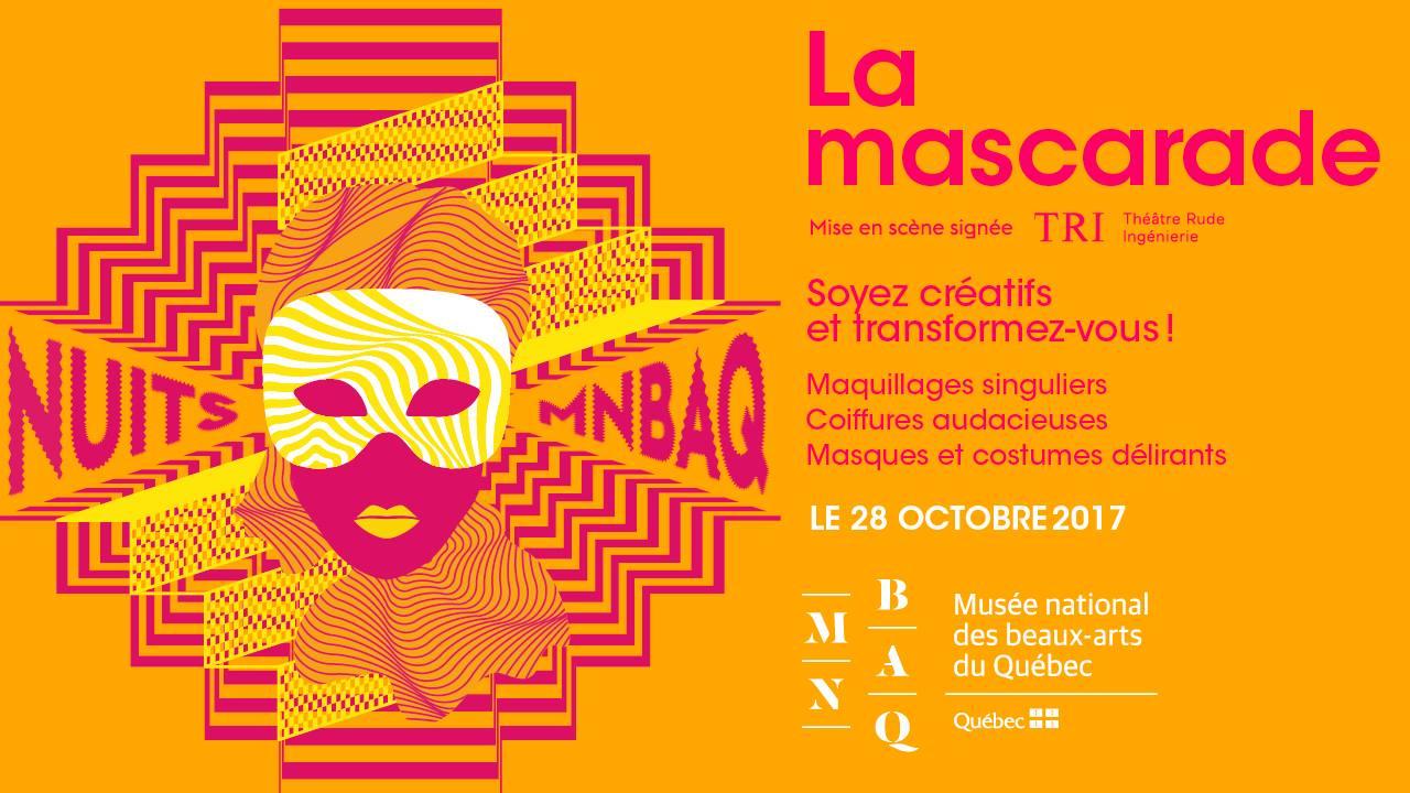 mascarade, MNBAQ, halloween