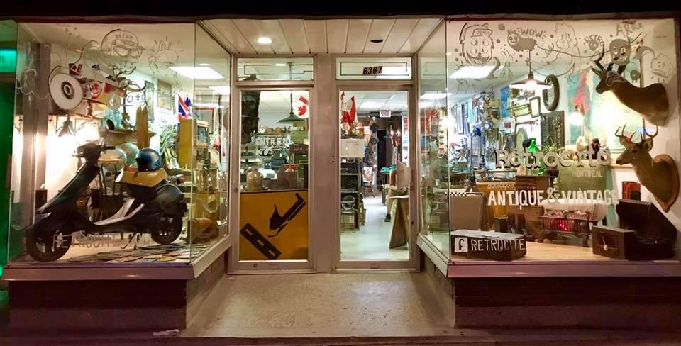 retrocité, vintage, rétro, plaza st-hubert