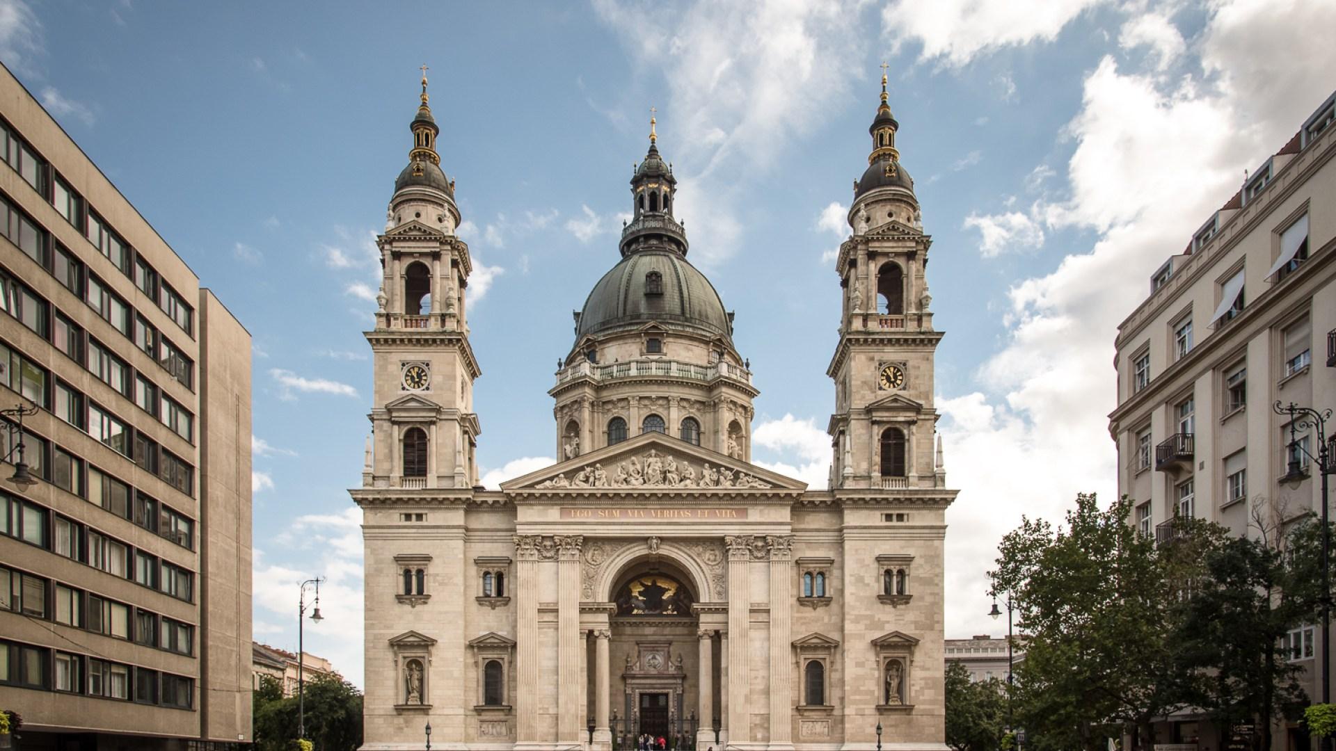 basilique st-etienne, budapest, europe de l'est