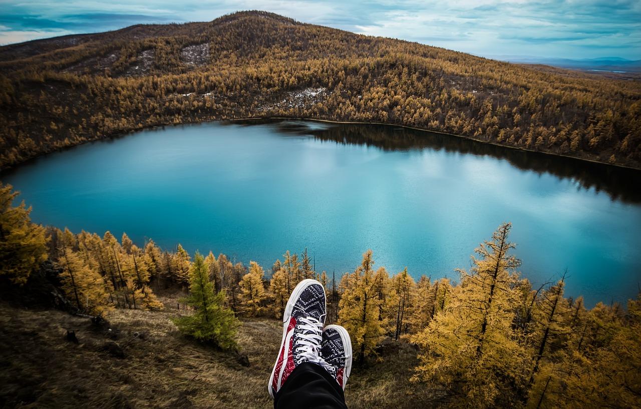 camping, nature, montagne, hiking, plein air, randonnée, lac, forêt