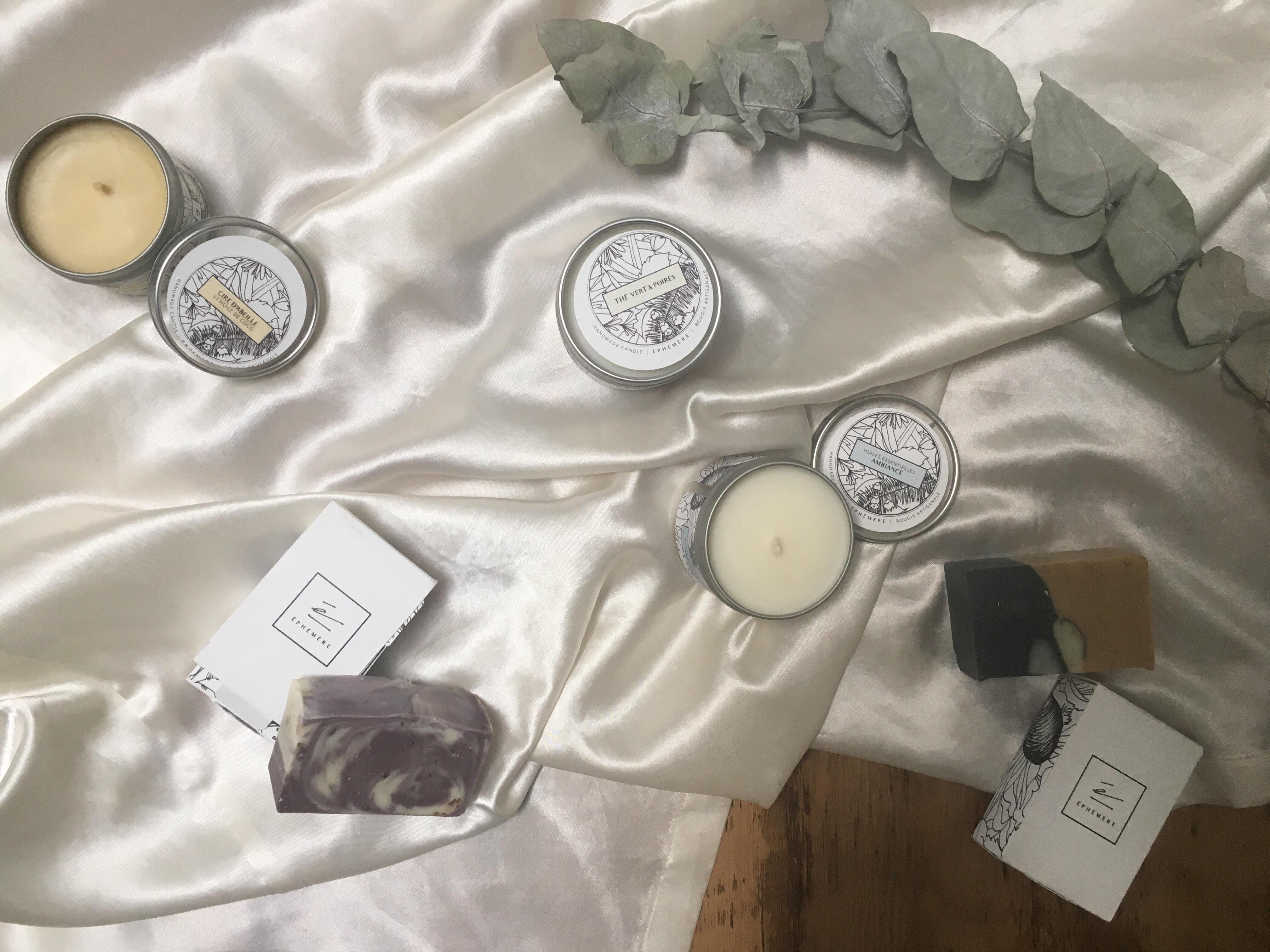 savonnerie, 100% naturels, chandelles et savonnerie, éphémère boutique, montréal, article, blog le cahier
