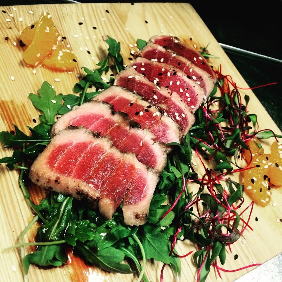 st-antoine, restaurant, grillades, fruits de mer, menu varié, tataki