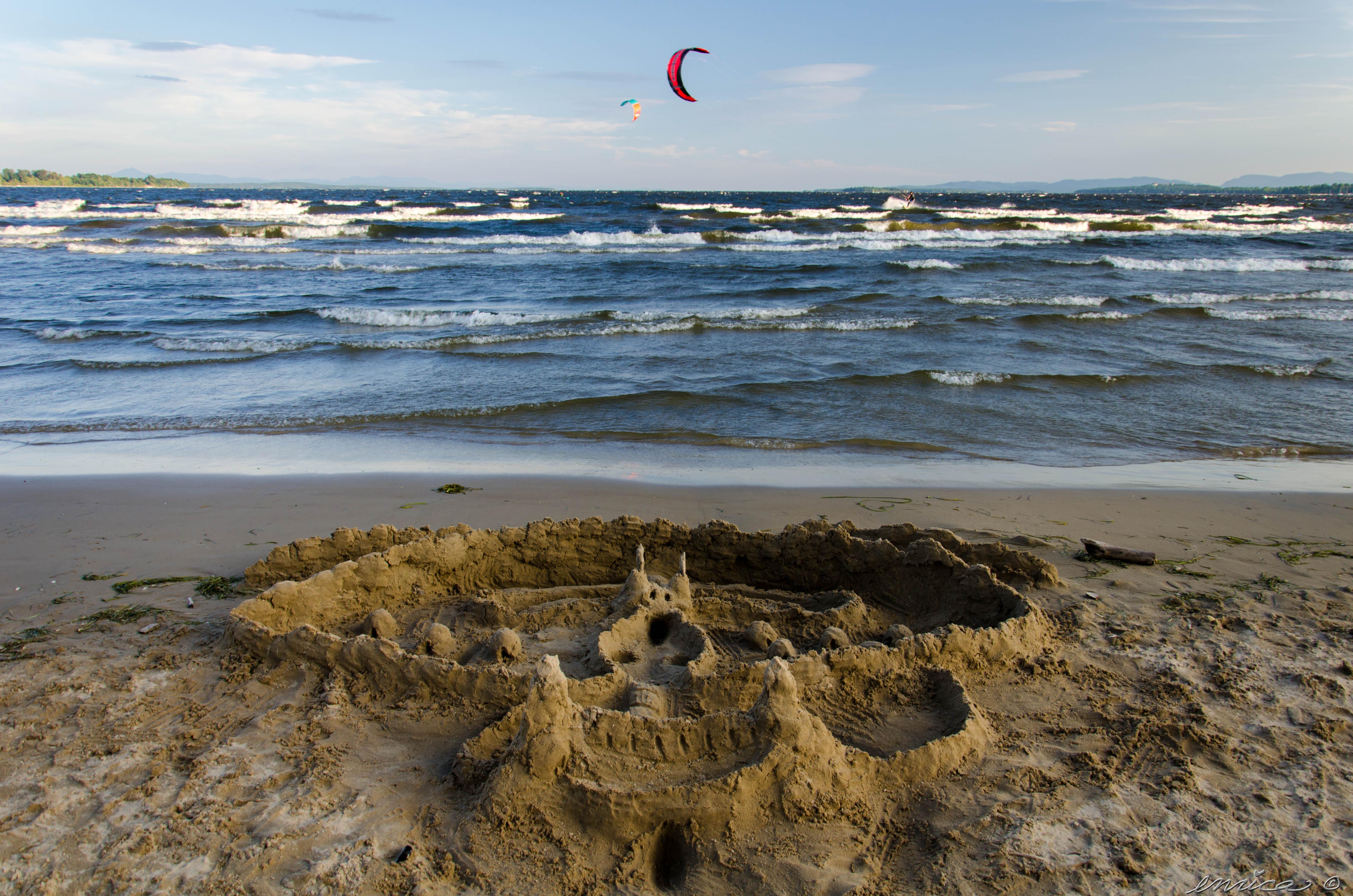 plattsburgh city beach, plage, états-unis