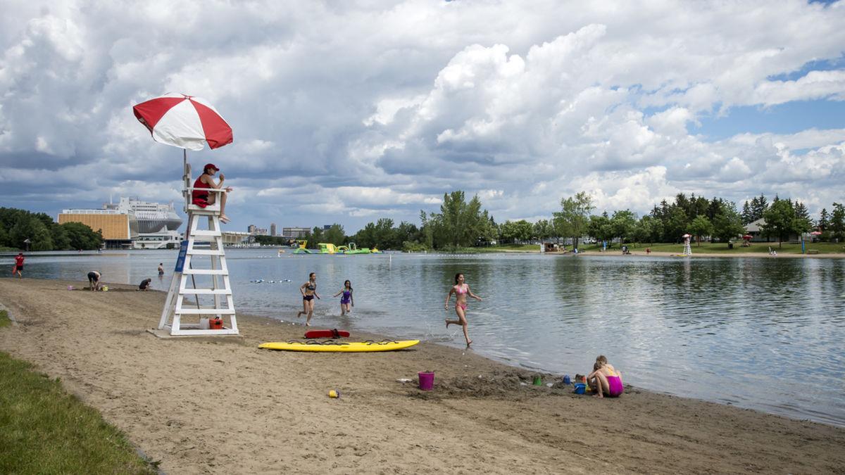 plage jean-doré, parc jean drapeau, plage, montréal
