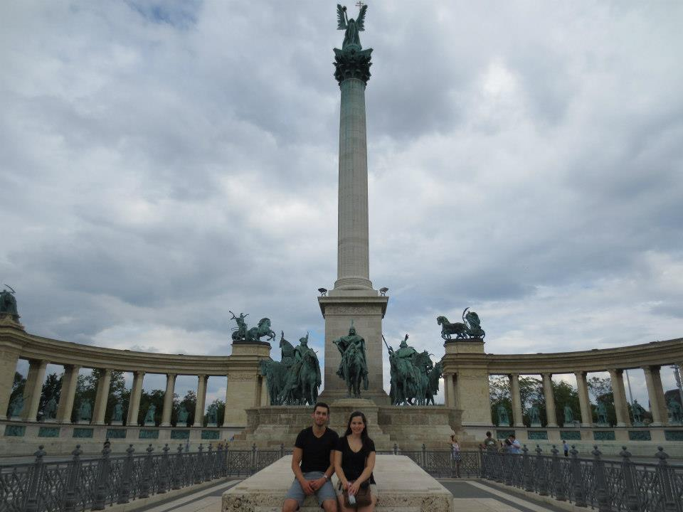 hosok tere, place des héros, budapest