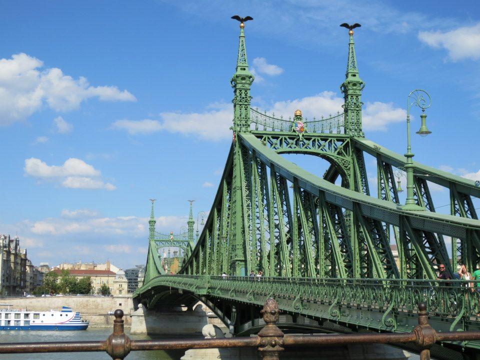 liberty bridge, pont de la liberté, budapest