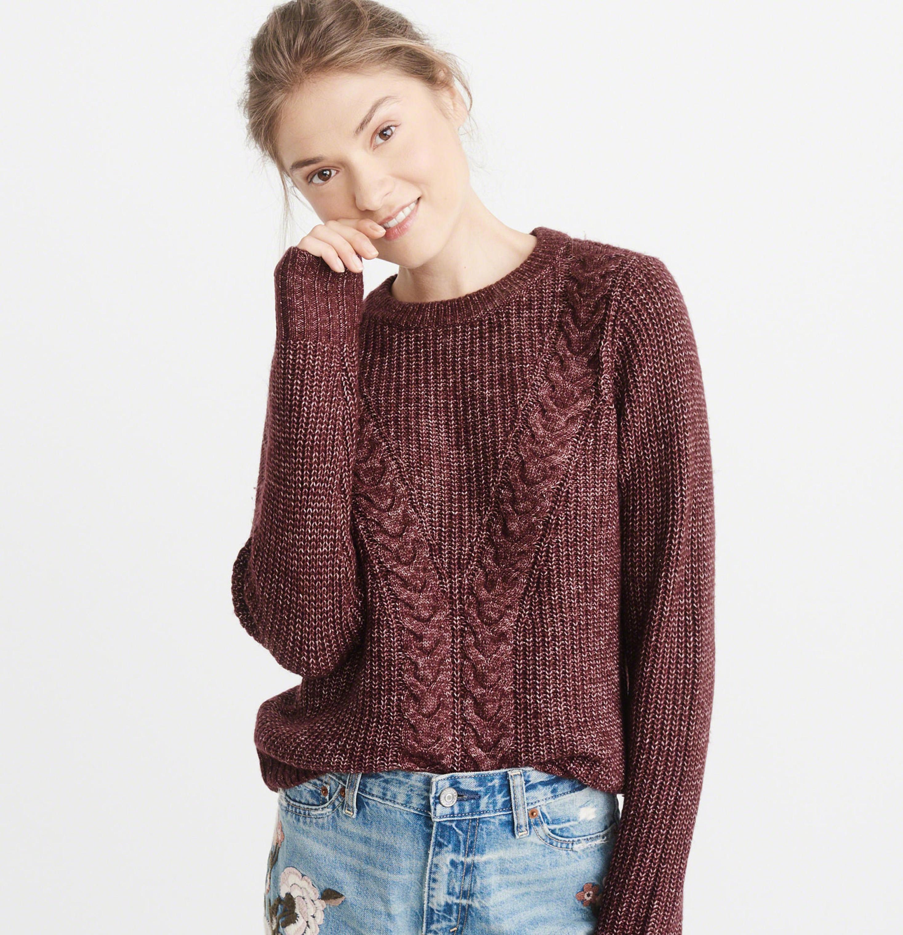 tricot, chandail, abercrombie, doudou, chaud