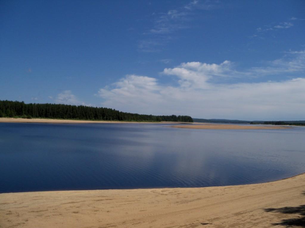 lac taureau, plage