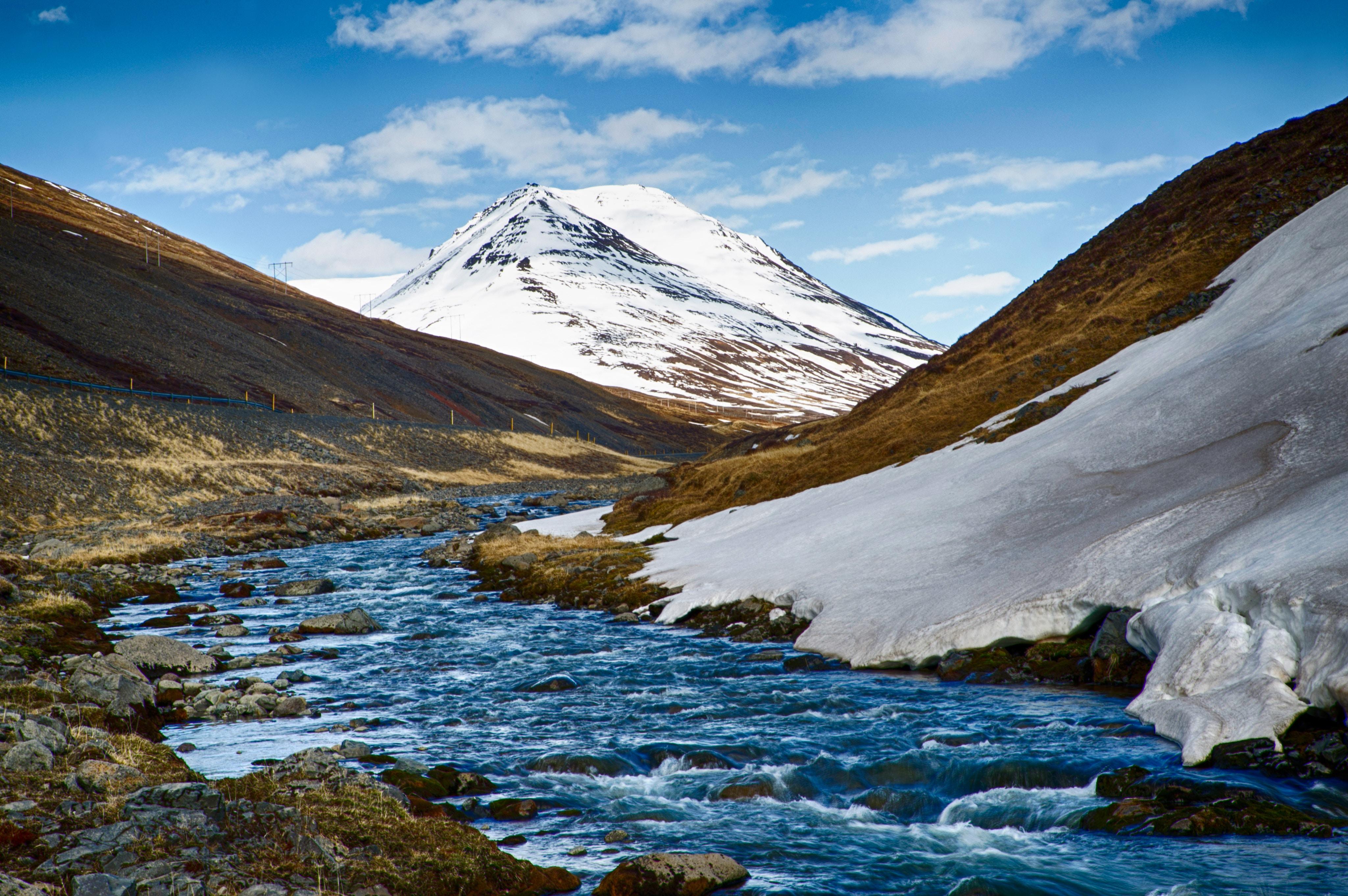 islande, paysage, nordique