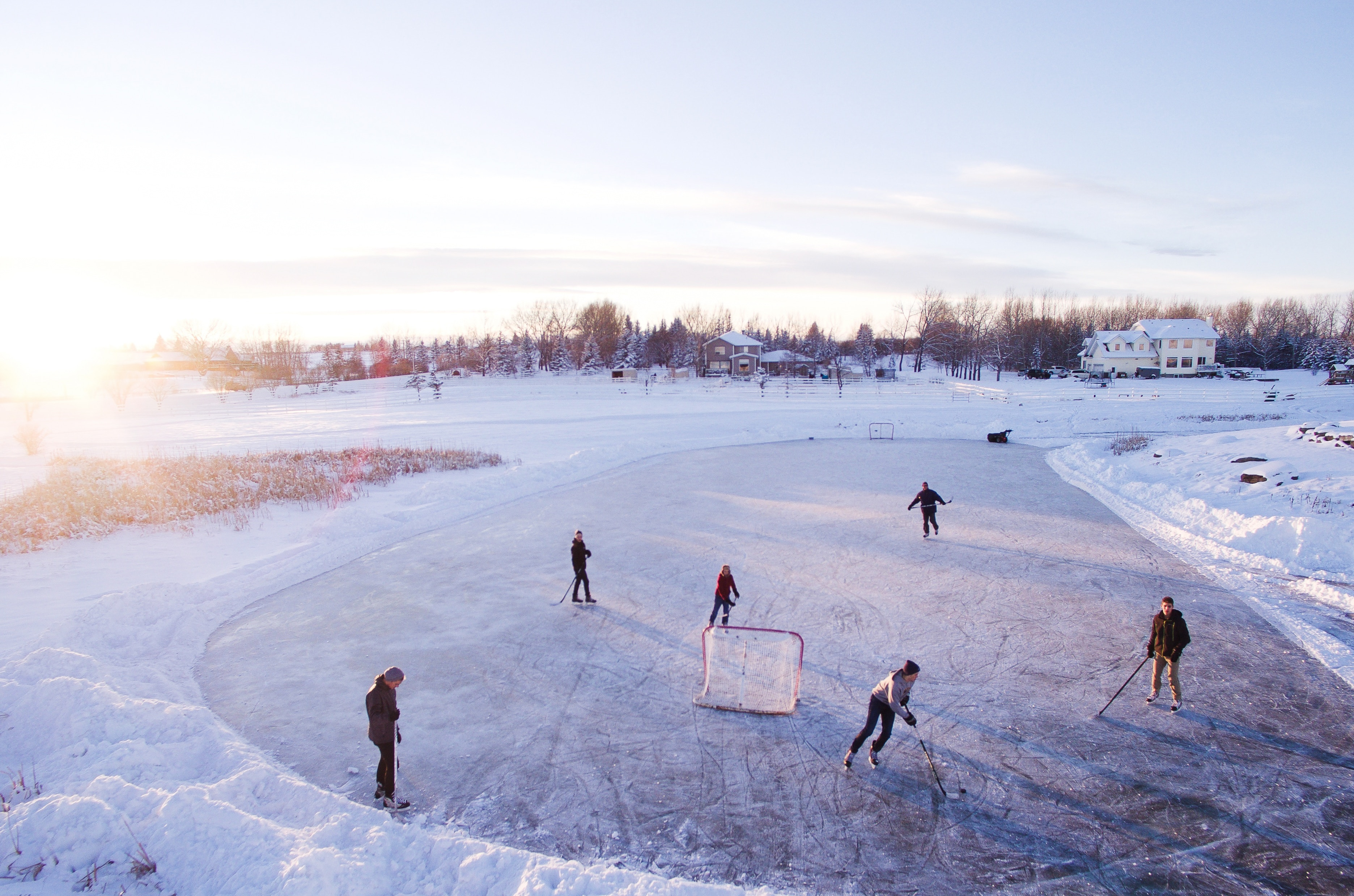hockey, famille