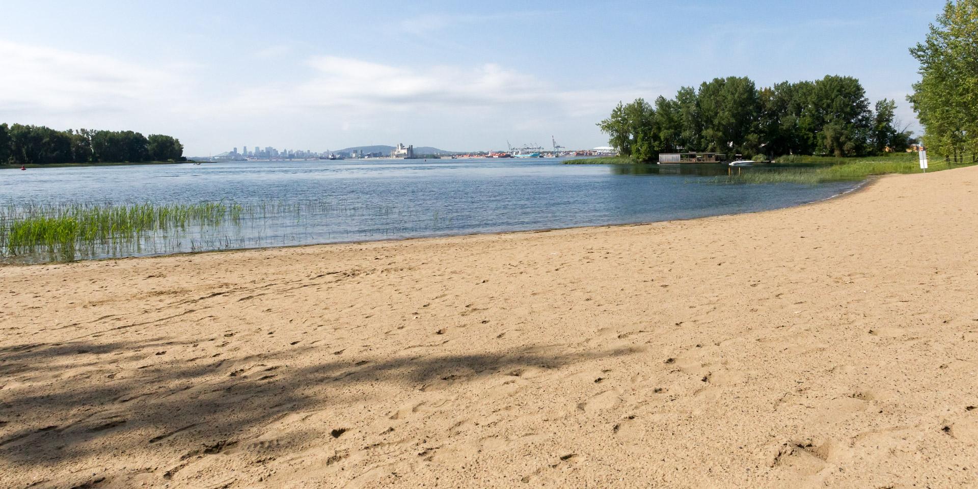 plage, ile charron, longueuil
