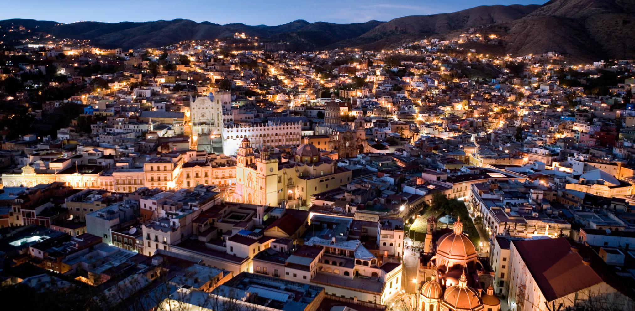 guanajuato, tunnesl, collines, mexique