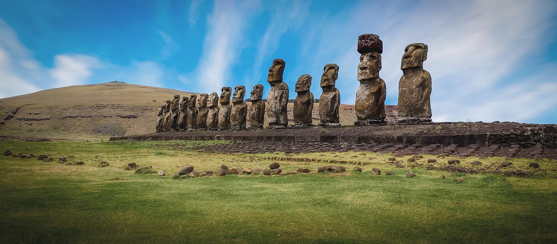 chili, île de pâques, amérique du sud, amérique latine, archéologie