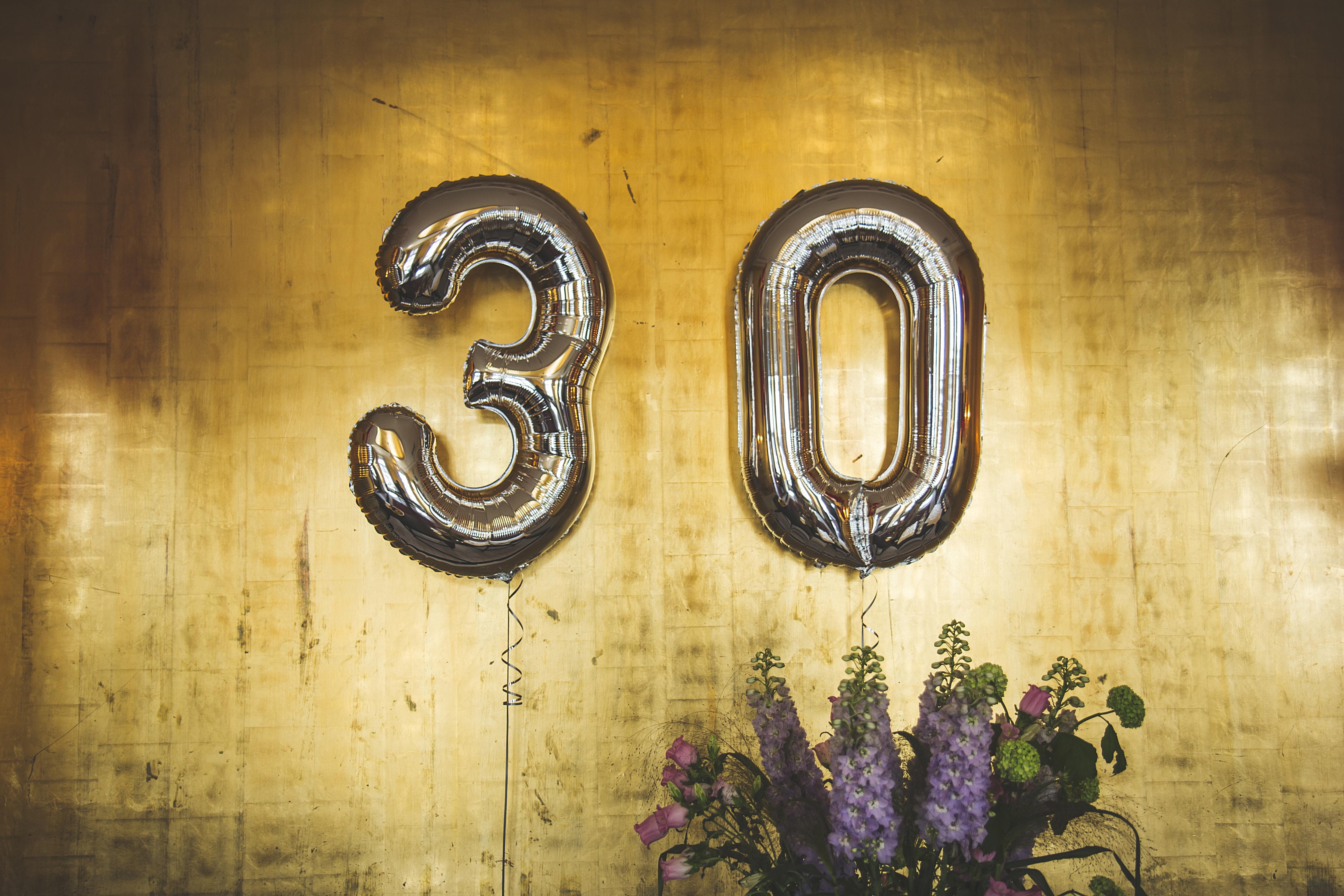 30 ans, décennie, vieillir