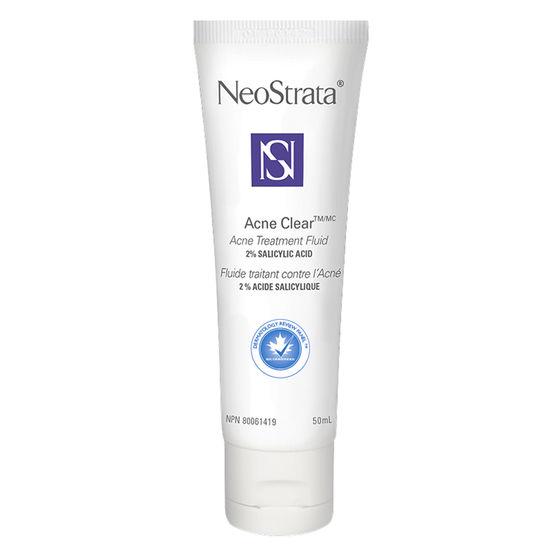 neostrata, acné, fluide, traitement pour les boutons