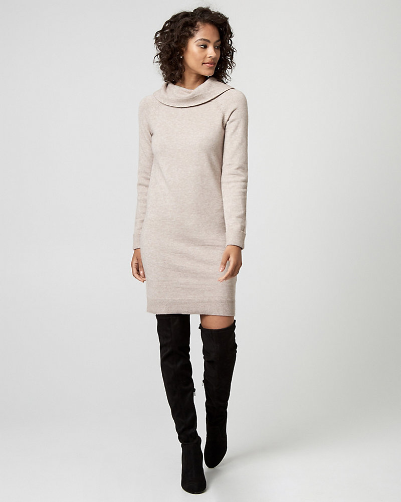 robe pull, robe tricot, cagoule, le château