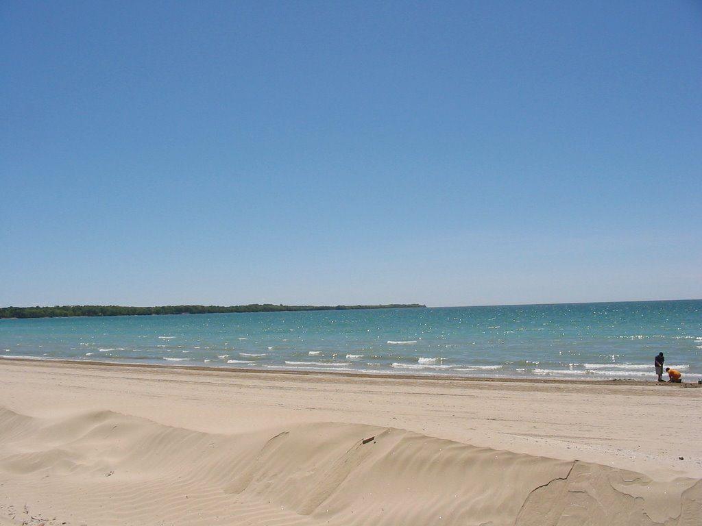 sandbanks, ontario, plage