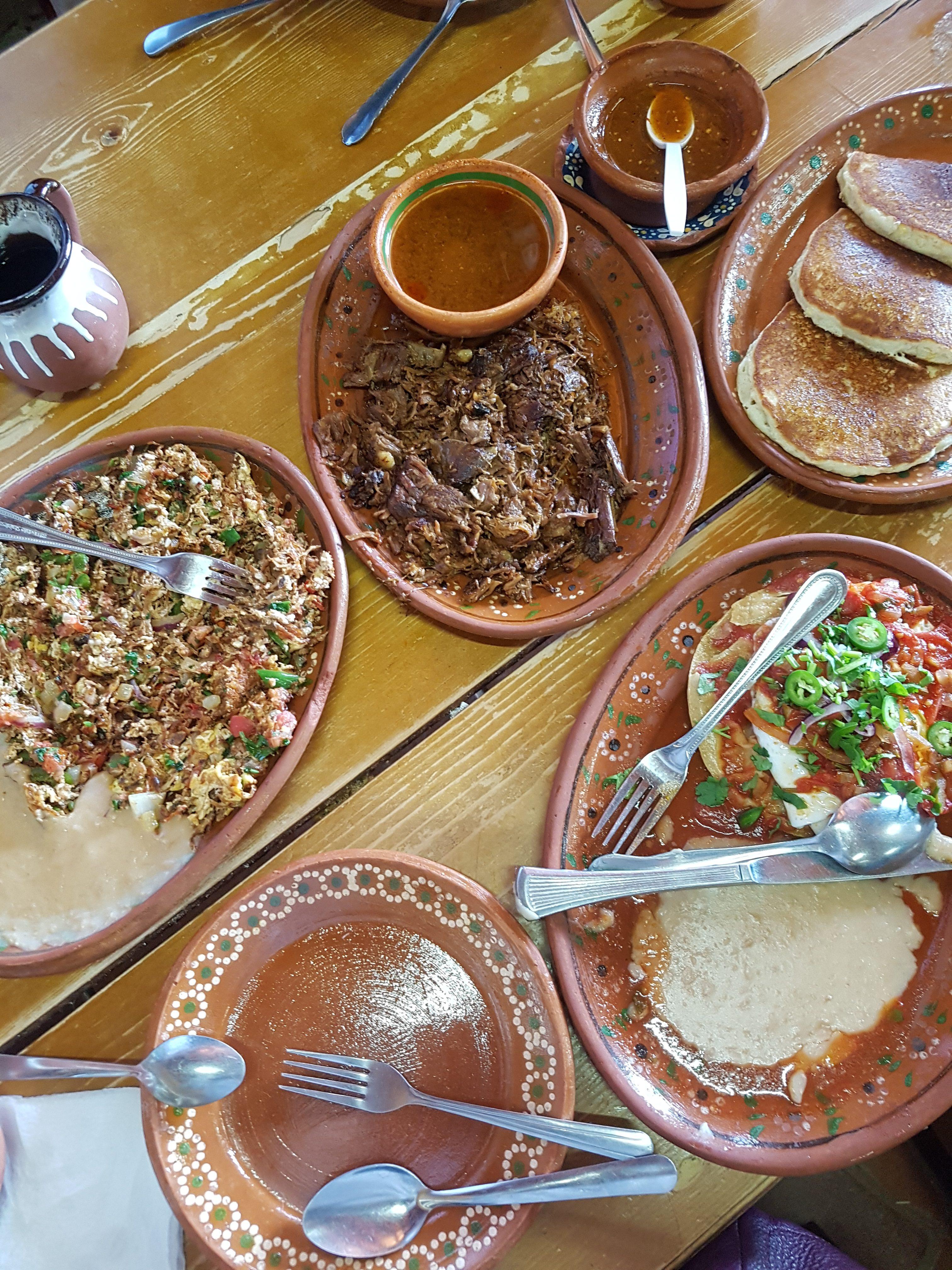 cuisine mexicaine, dejeuner, la cocina de dona esthela, baja califroania