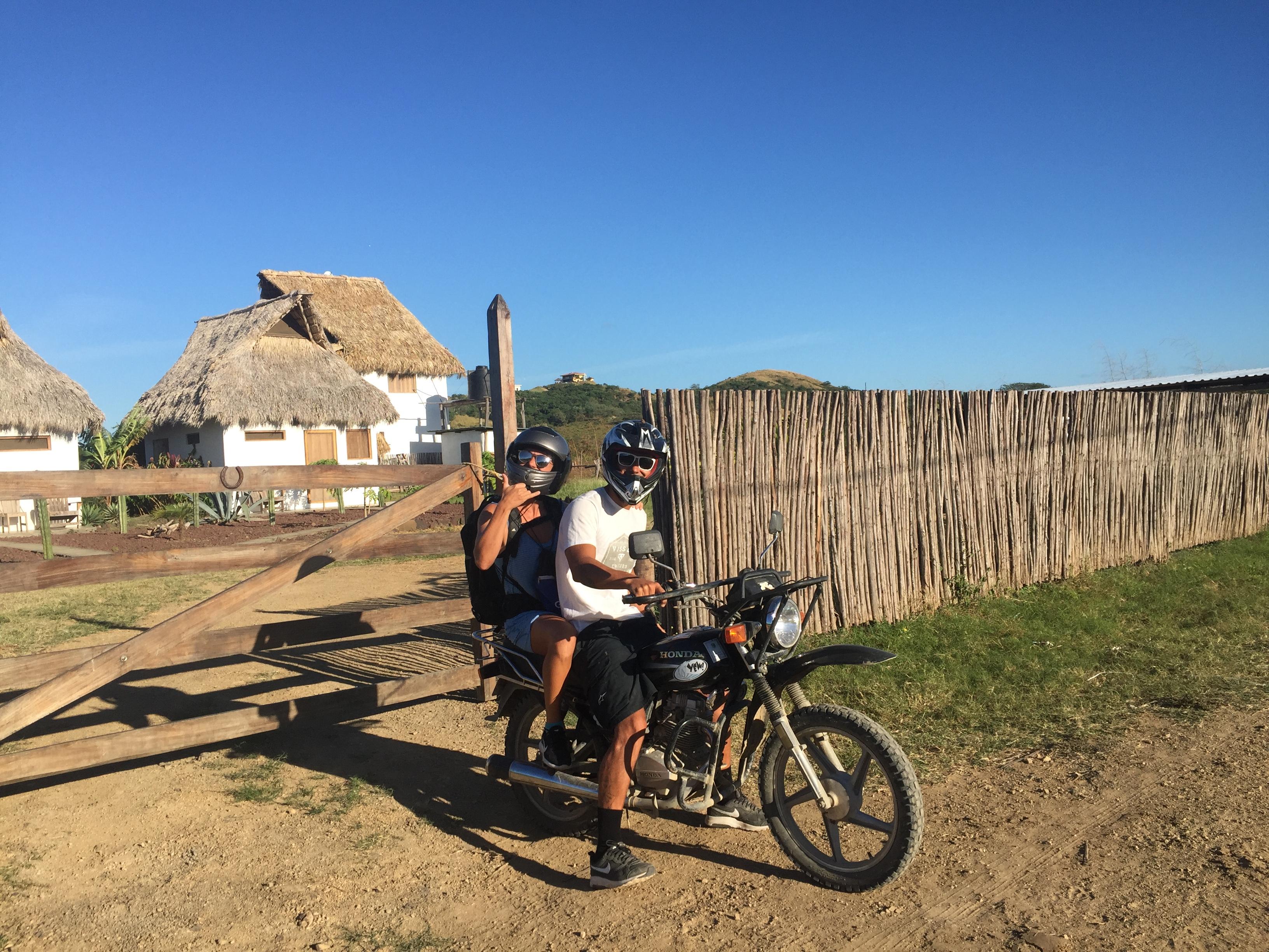 nicaragua voyage moto transport