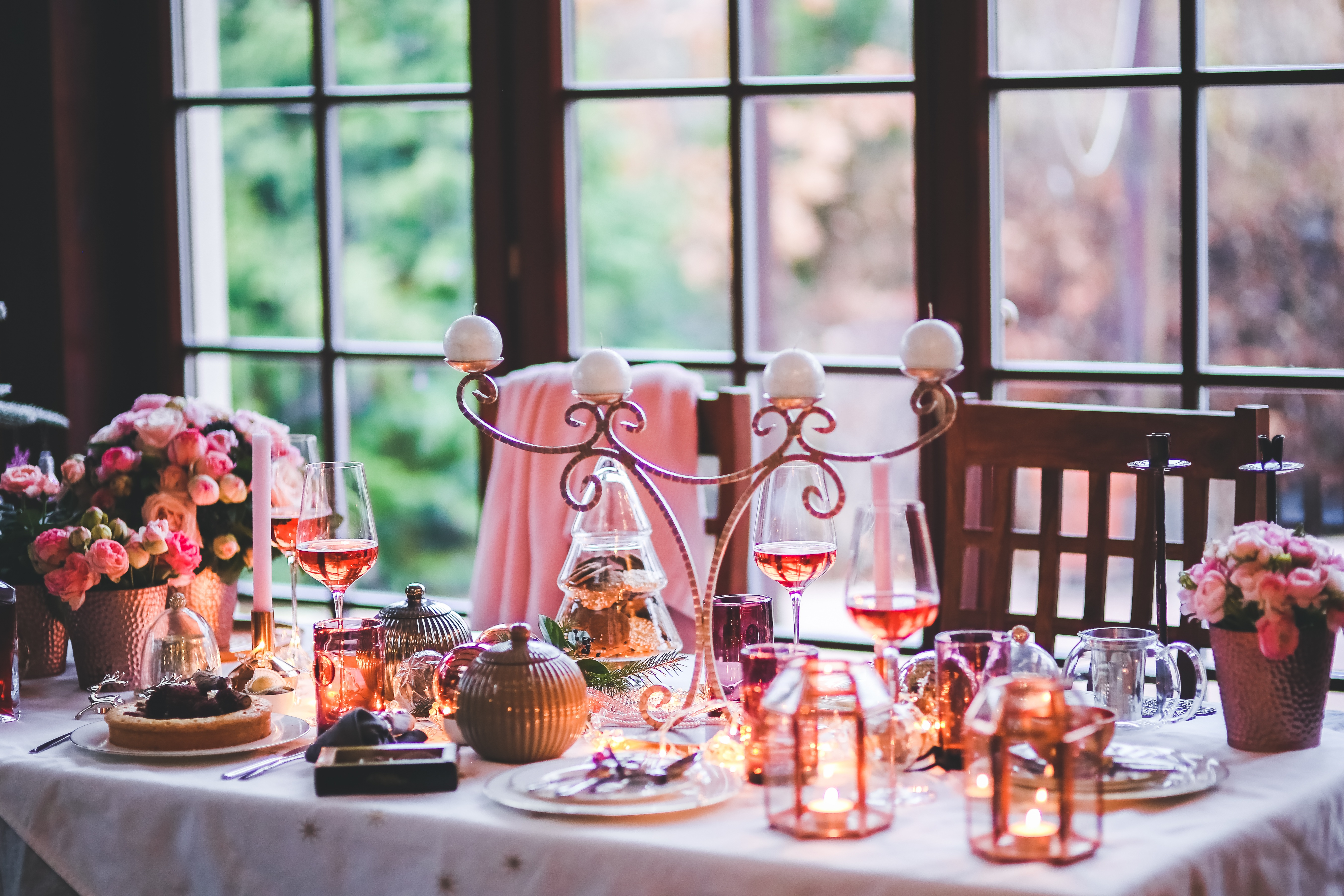 Recevoir Noël table