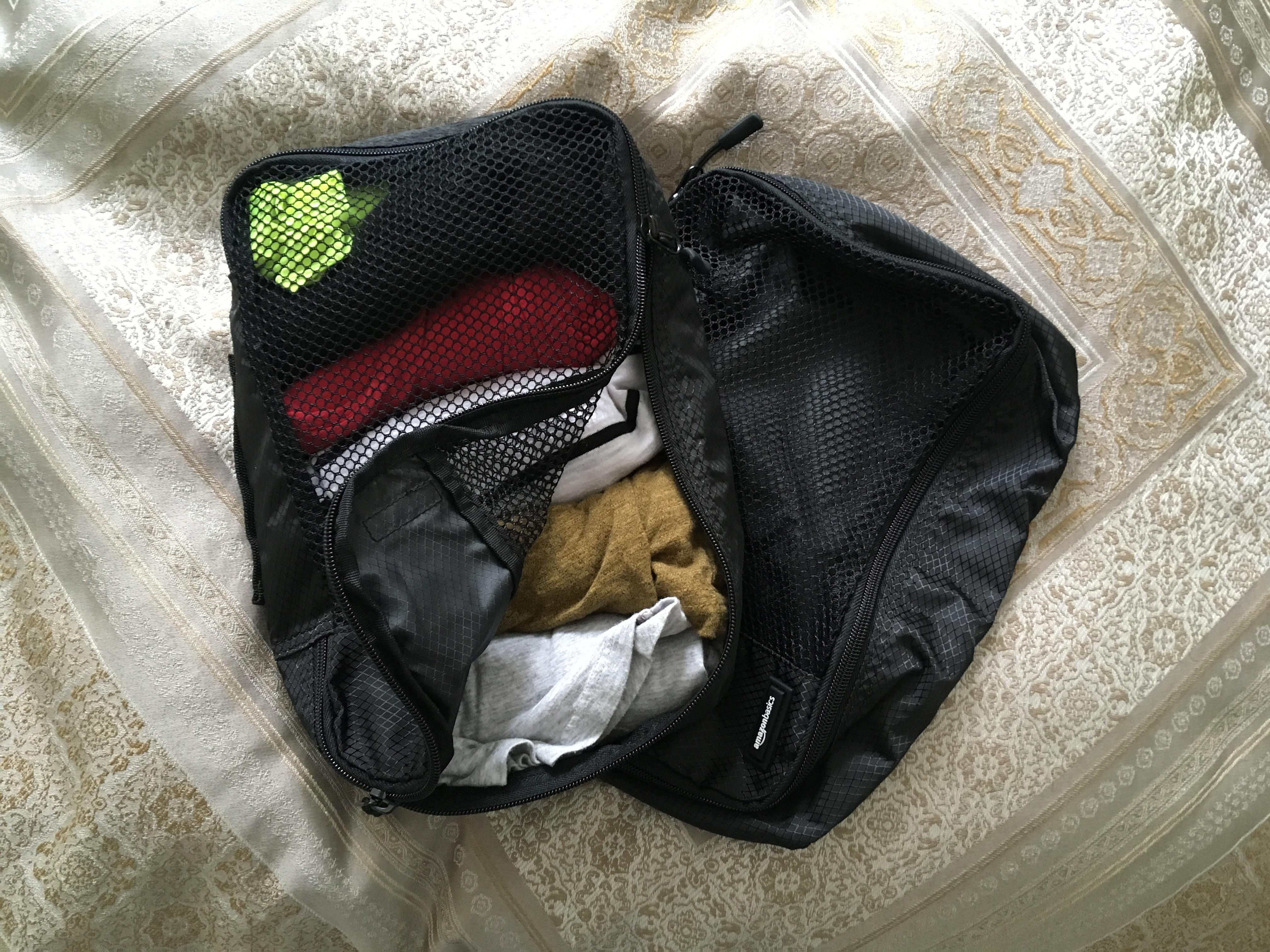 packing cubes, accessoire voyage, article voyage