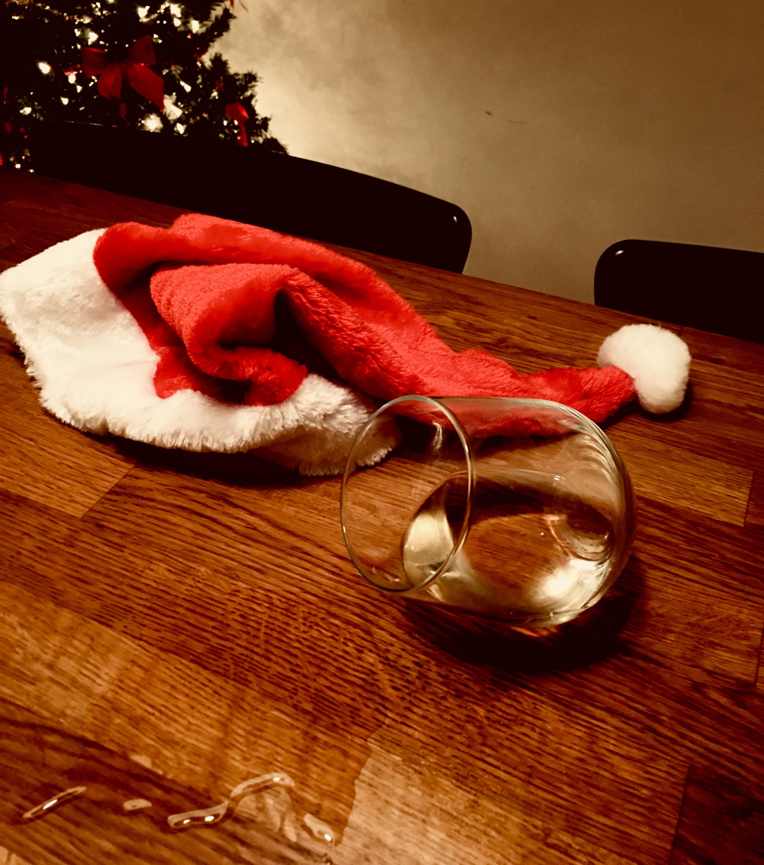 Noël en solo, vin, alcool, Noël, les fêtes célibataire