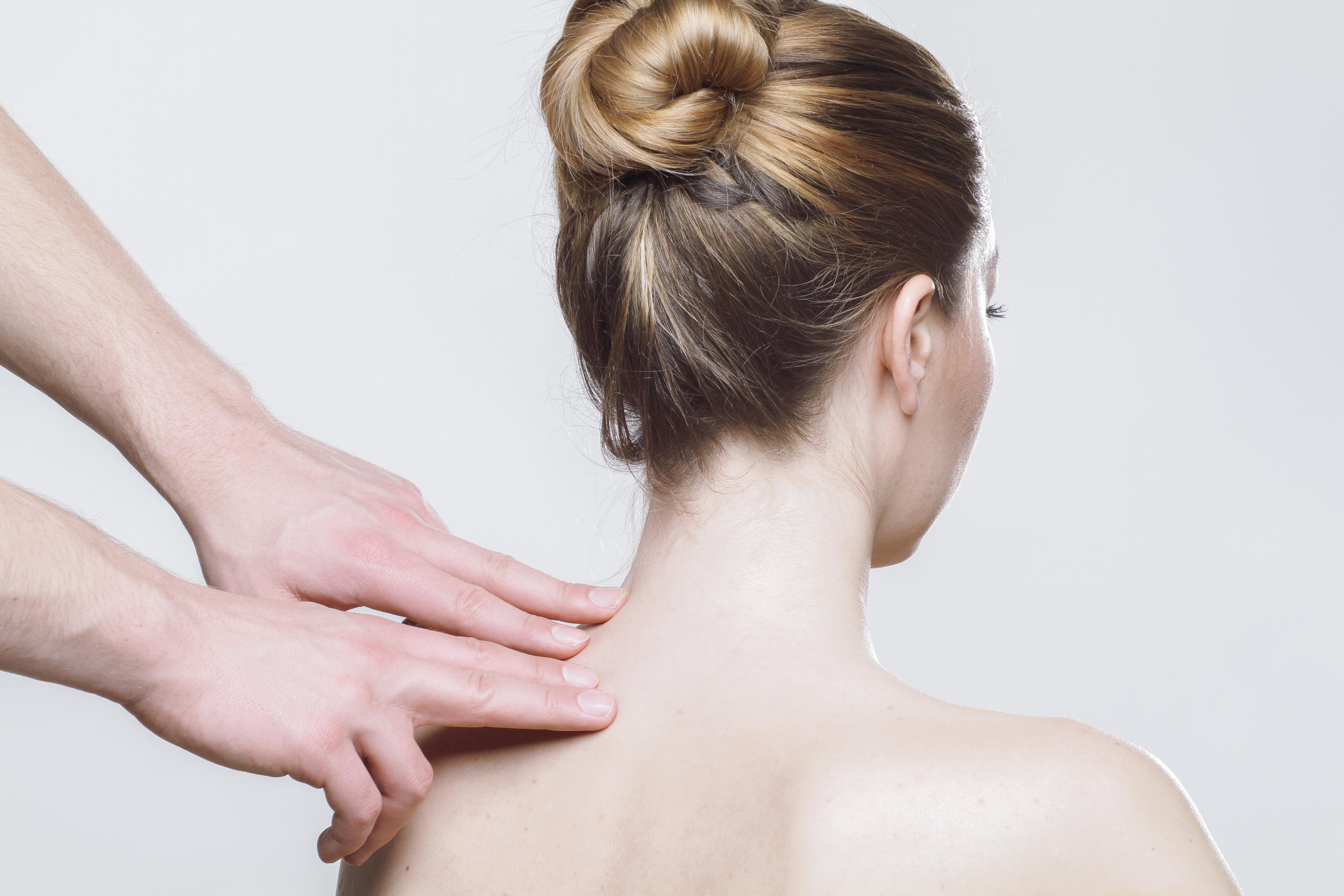 massage toucher détente