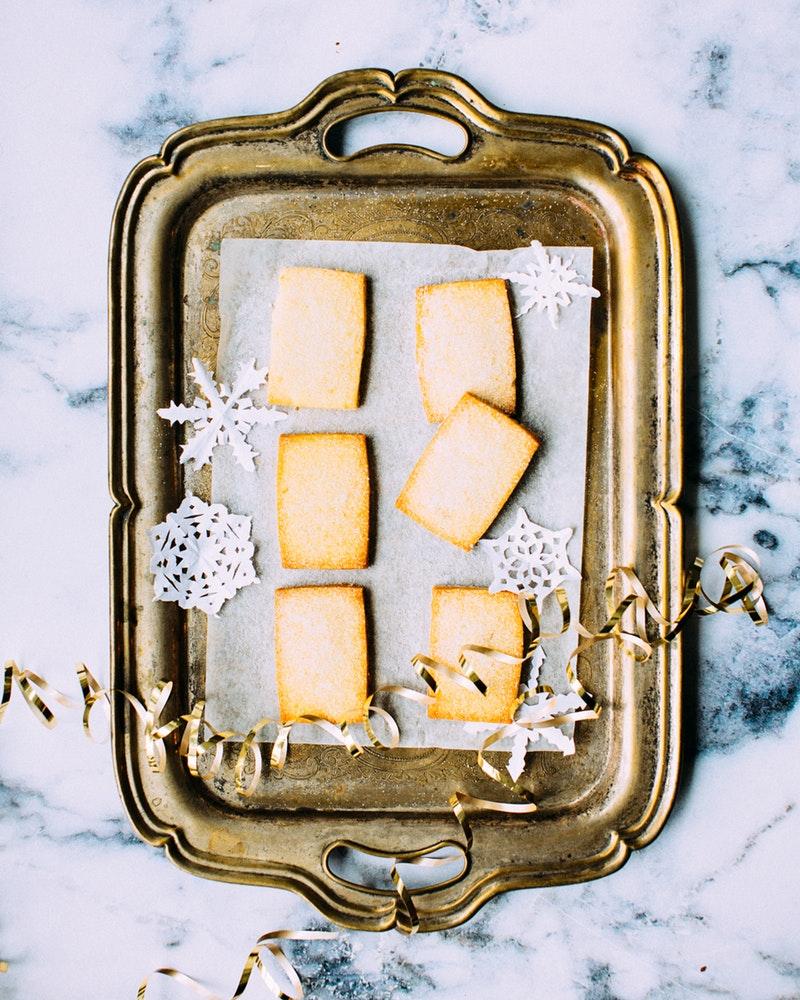 biscuits aux amandes, temps des fêtes, Noël