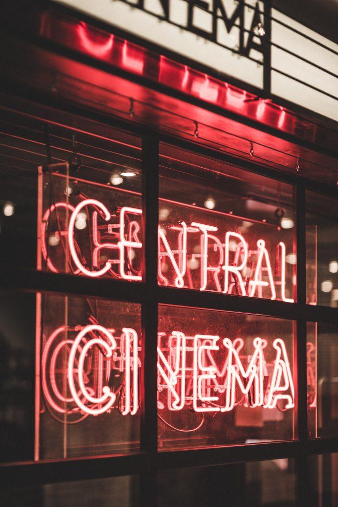 cinéma, film, popcorn
