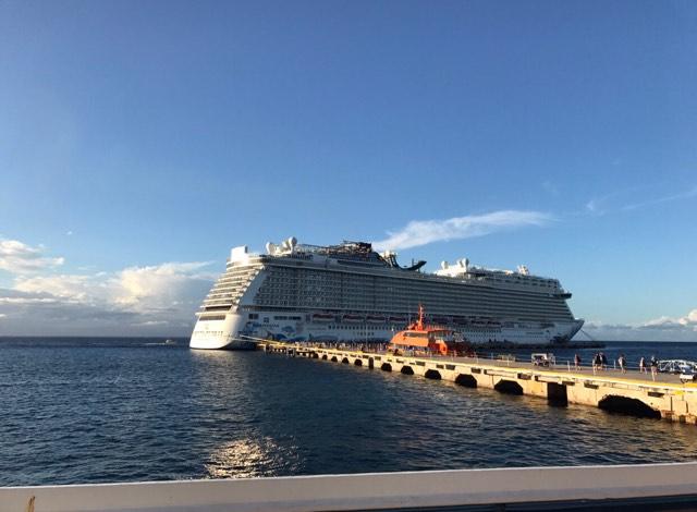 navire, croisière, norwegian escape, voyage,