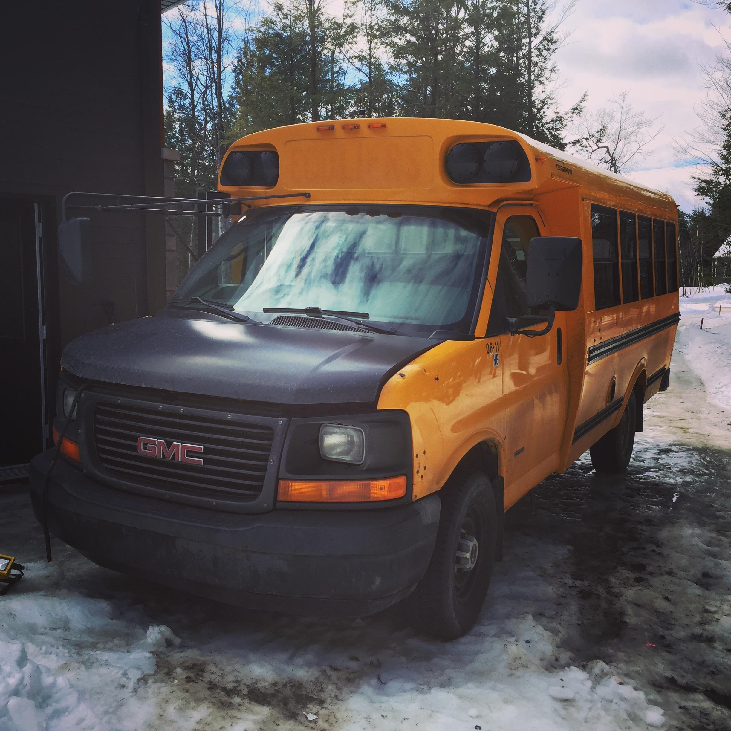 autobus scolaire trip voyage conversion