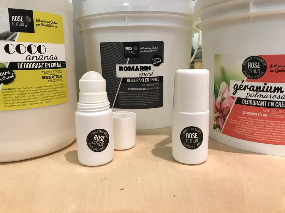 rose citron, déodorant naturel, déodorant, anti-odeur