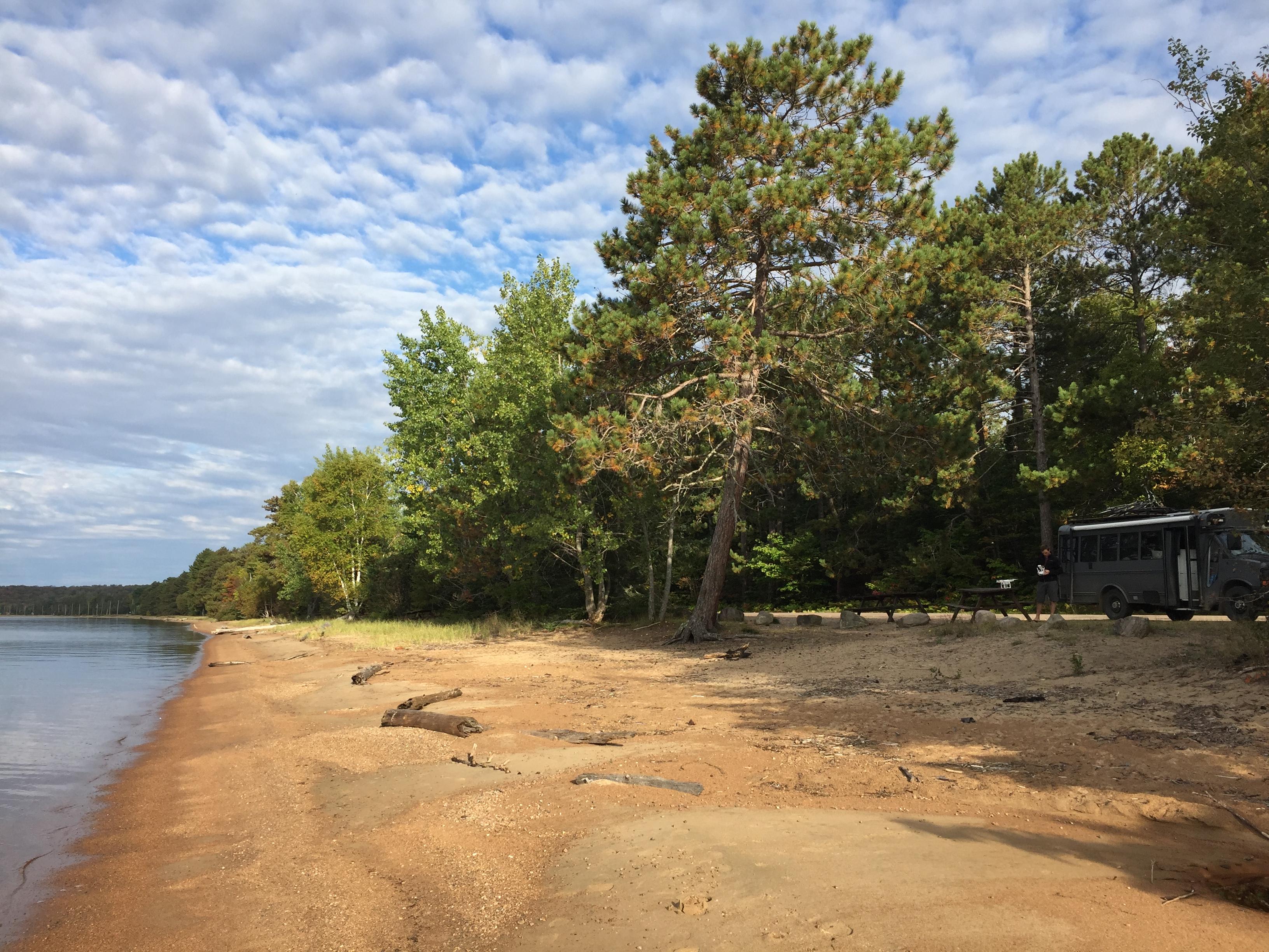 îles Manitoulin voyage road trip paysage Ontario