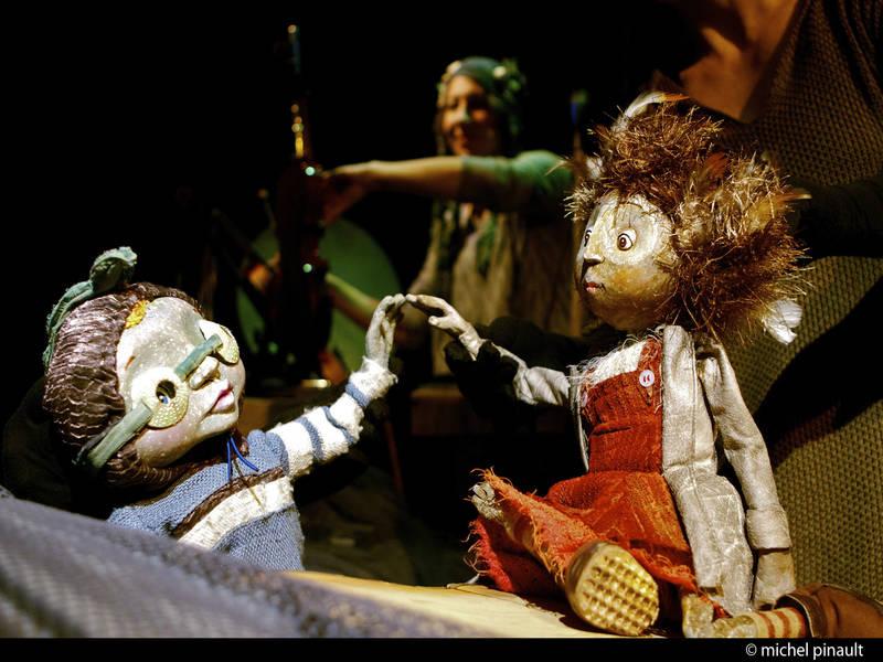 marionnettes, théâtre, famille, enfant