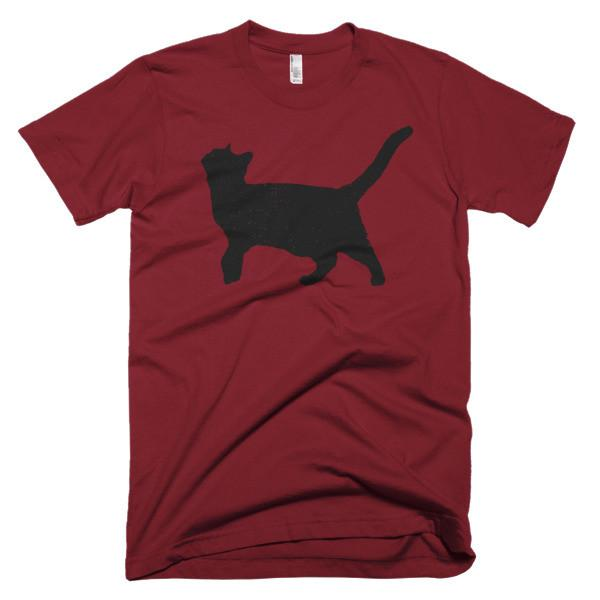 T-shirt chat cat crazy lady co