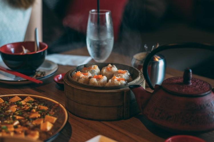 asiatique repas bouffe restaurant plats
