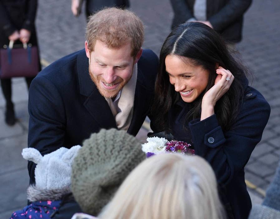 bague fiancailles princesse prince Harry Meghan Markle